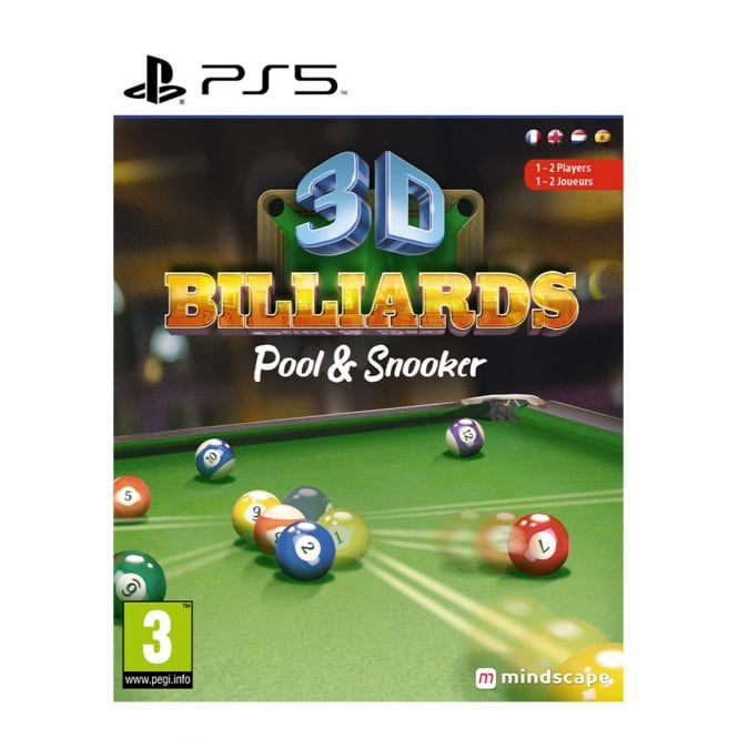 3D Billiards Pool and Snooker PS5