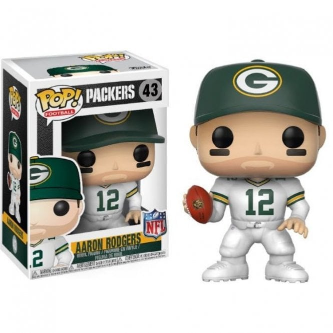 Aaron Rodgers Green Bay Packers Color Rush POP! Vinyl