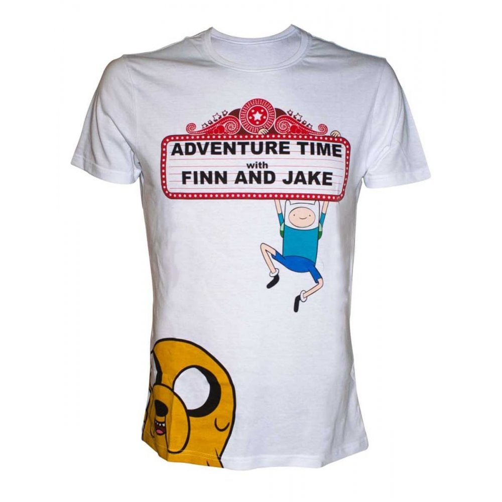 Adventure Time T Shirt Finn And Jake Epic Loot From Gamersheek