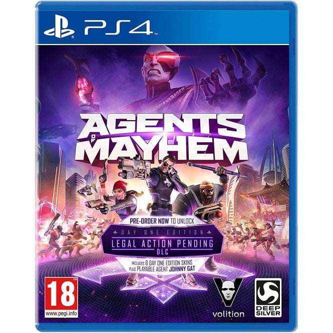Agents of Mayhem Day 1 Edition PS4