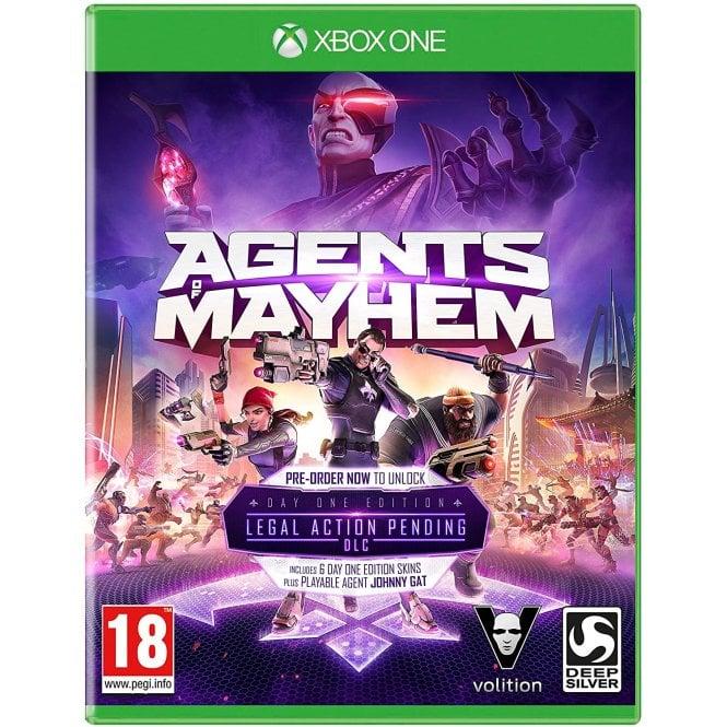 Agents of Mayhem Day 1 Edition Xbox