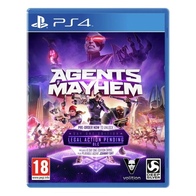 Agents of Mayhem Special Edition PS4