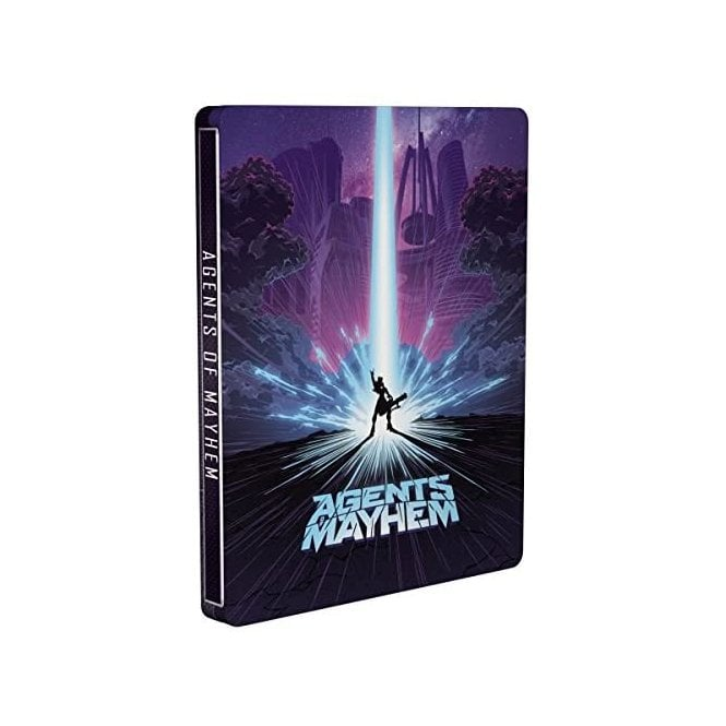 Agents of Mayhem Steelbook Edition PS4