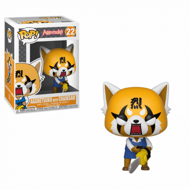 Aggretsuko - Retsuko with Chainsaw POP! Vinyl