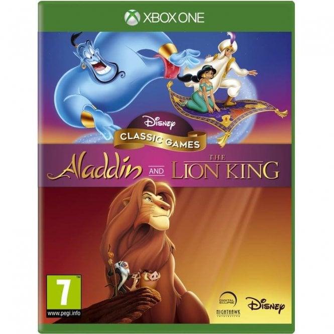 Aladdin & The Lion King Xbox