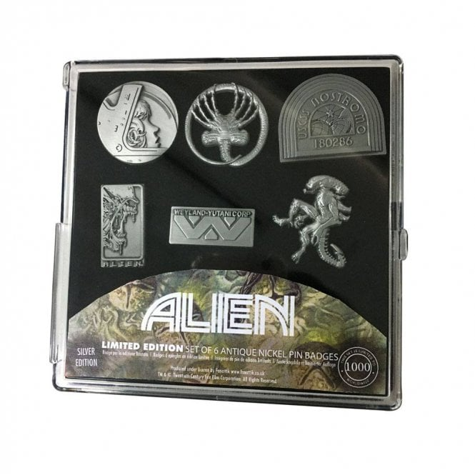 Alien Limited Edition Pin Badge Set
