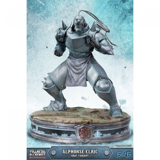 Alphonse Elric Statue Gray Variant