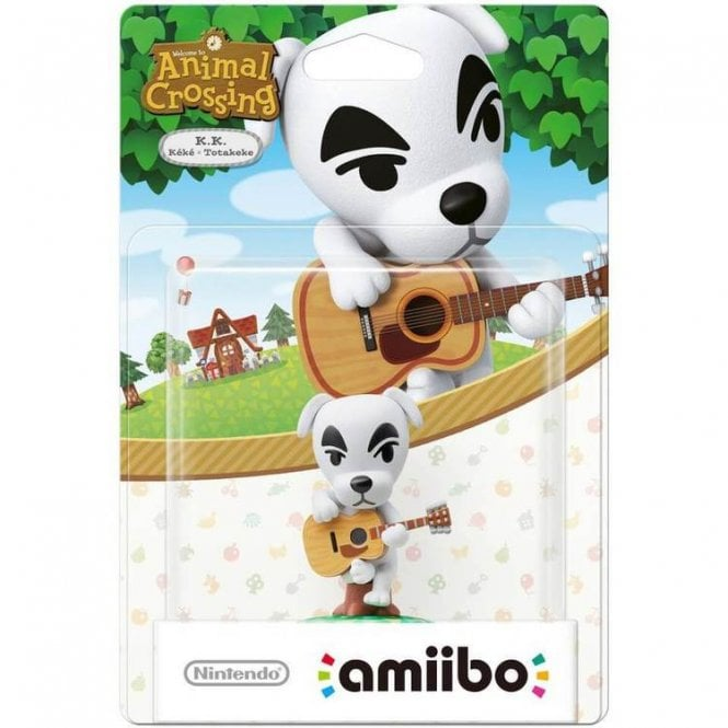 Amimal Crossing Collection K.K. Slider Amiibo