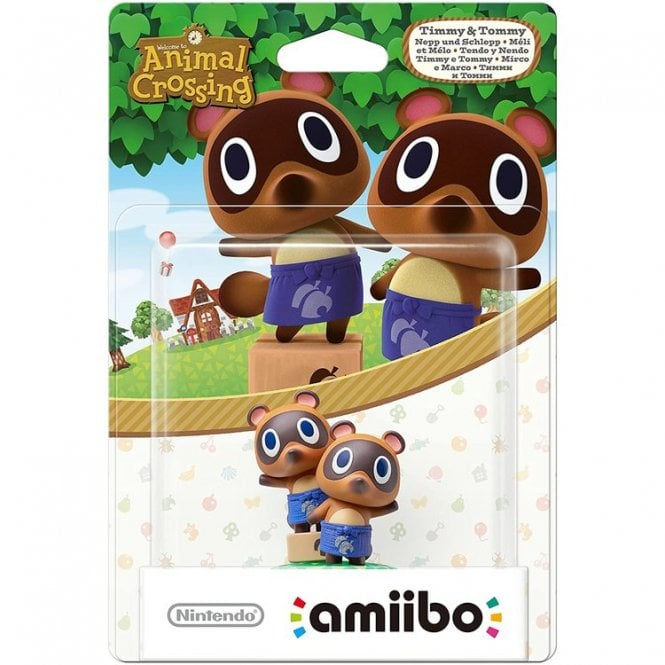 Amimal Crossing Collection Timmy Tommy Amiibo