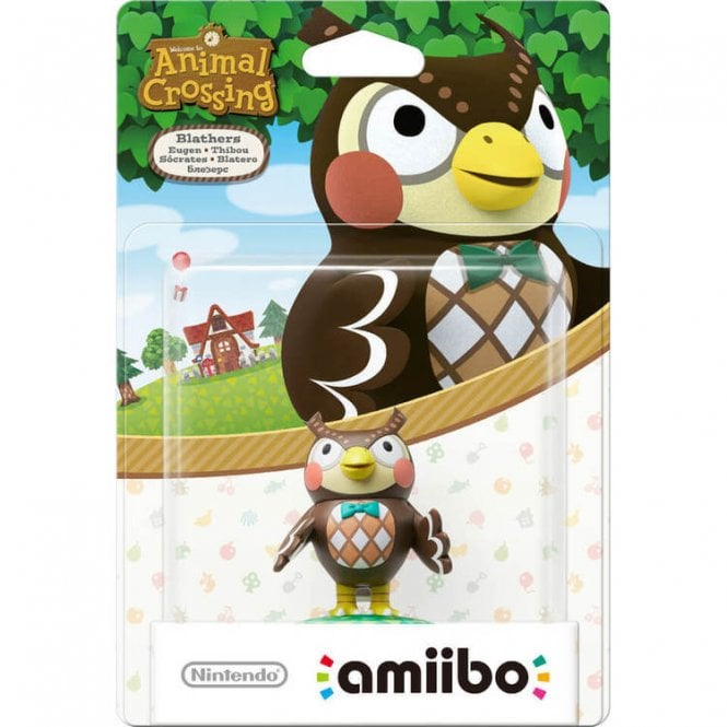 Animal Crossing Collection Blathers Amiibo