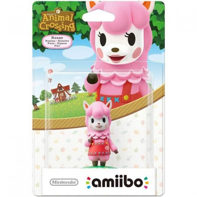 Animal Crossing Collection Reese Amiibo