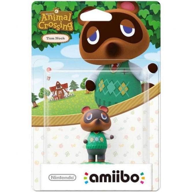 Animal Crossing Collection Tom Nook Amiibo