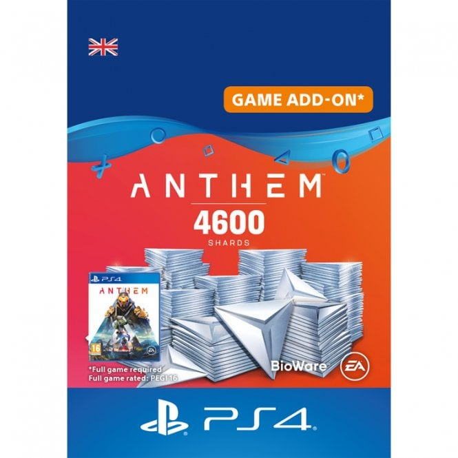 Anthem 4600 Shards Pack