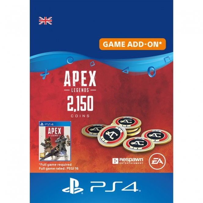 Apex Legends 2,000 (+150 Bonus) Apex Coins