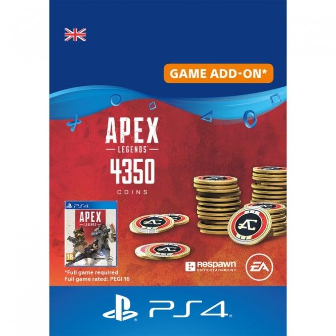 Apex Legends 4,000 (+350 Bonus) Apex Coins