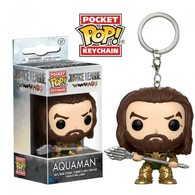 Aquaman Pocket POP! Keyring