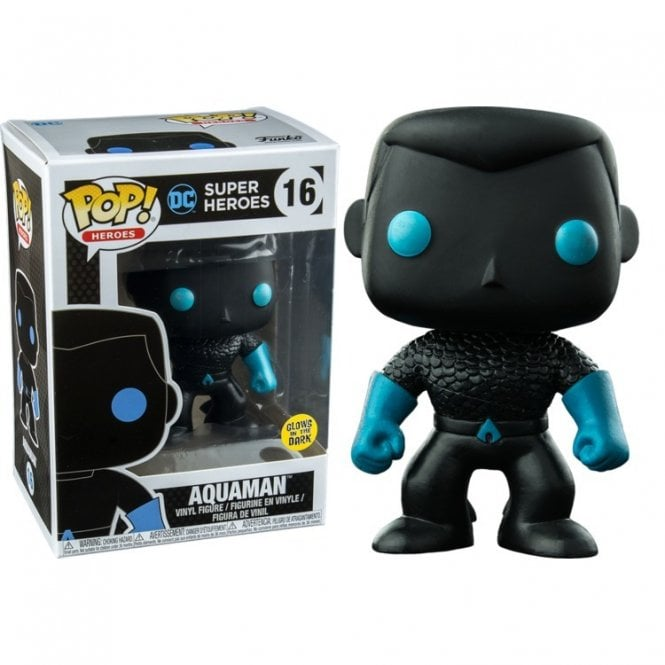 Aquaman Silhouette GITD Exclusive GITD POP! Vinyl