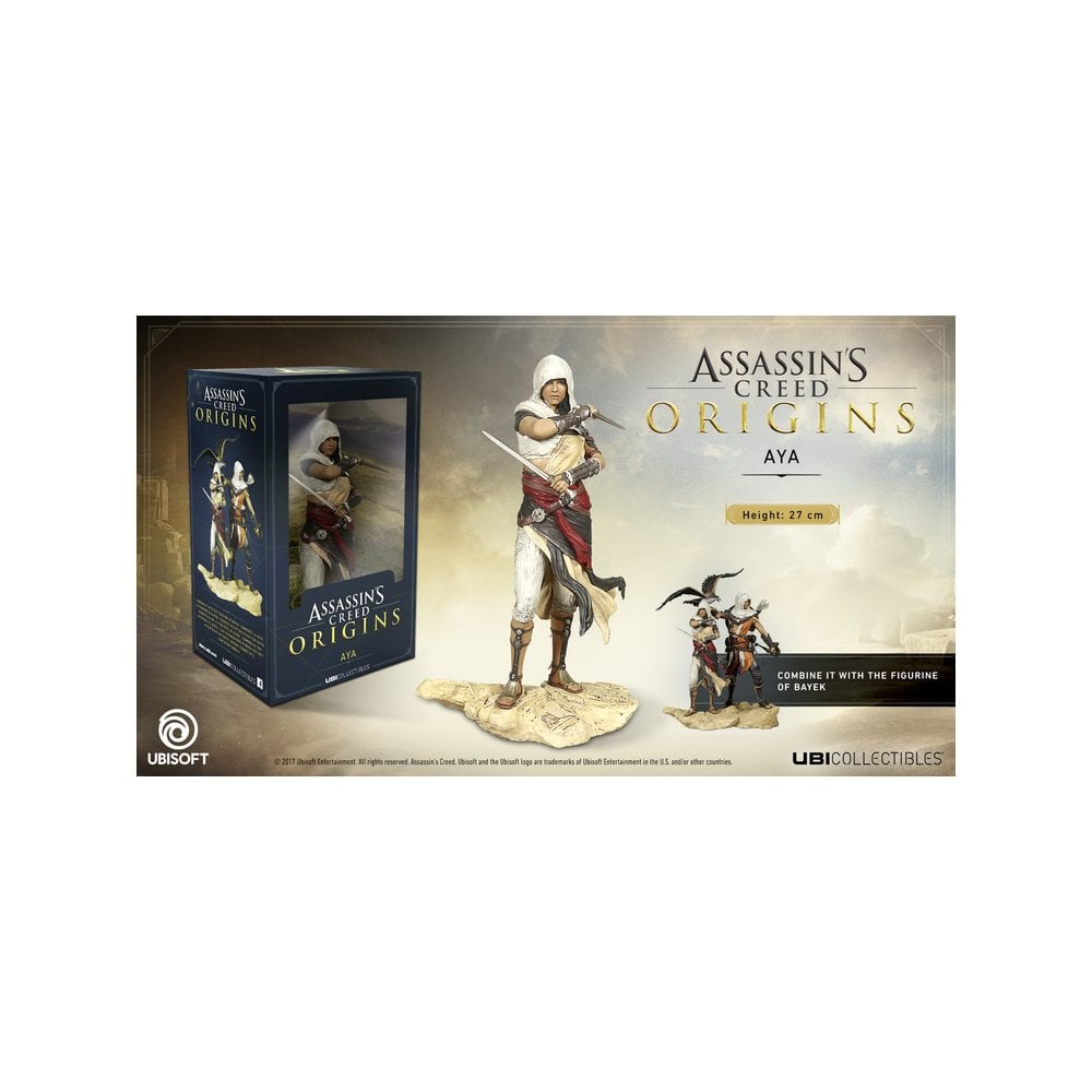 Assassin S Creed Origins Aya Statue Gaming From Gamersheek