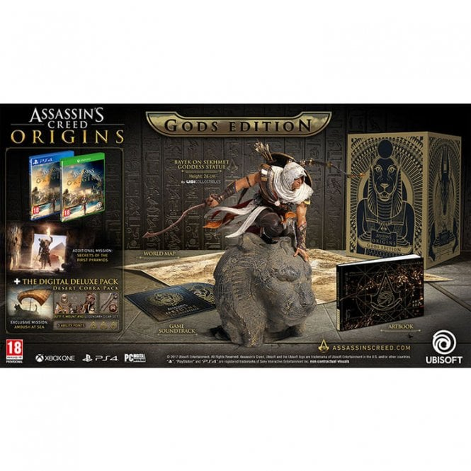 Assassin's Creed Origins Gods Collector's Edition Xbox One
