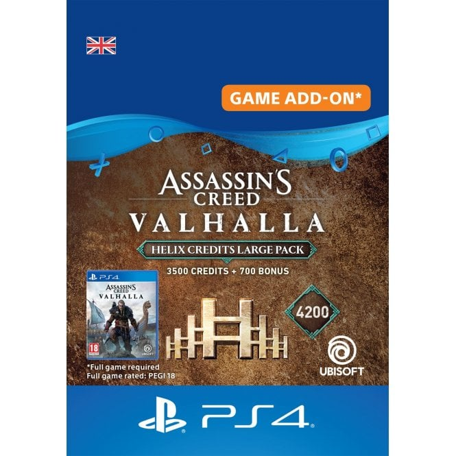Assassin's Creed Valhalla - Helix Credits Large Pack (4,200)