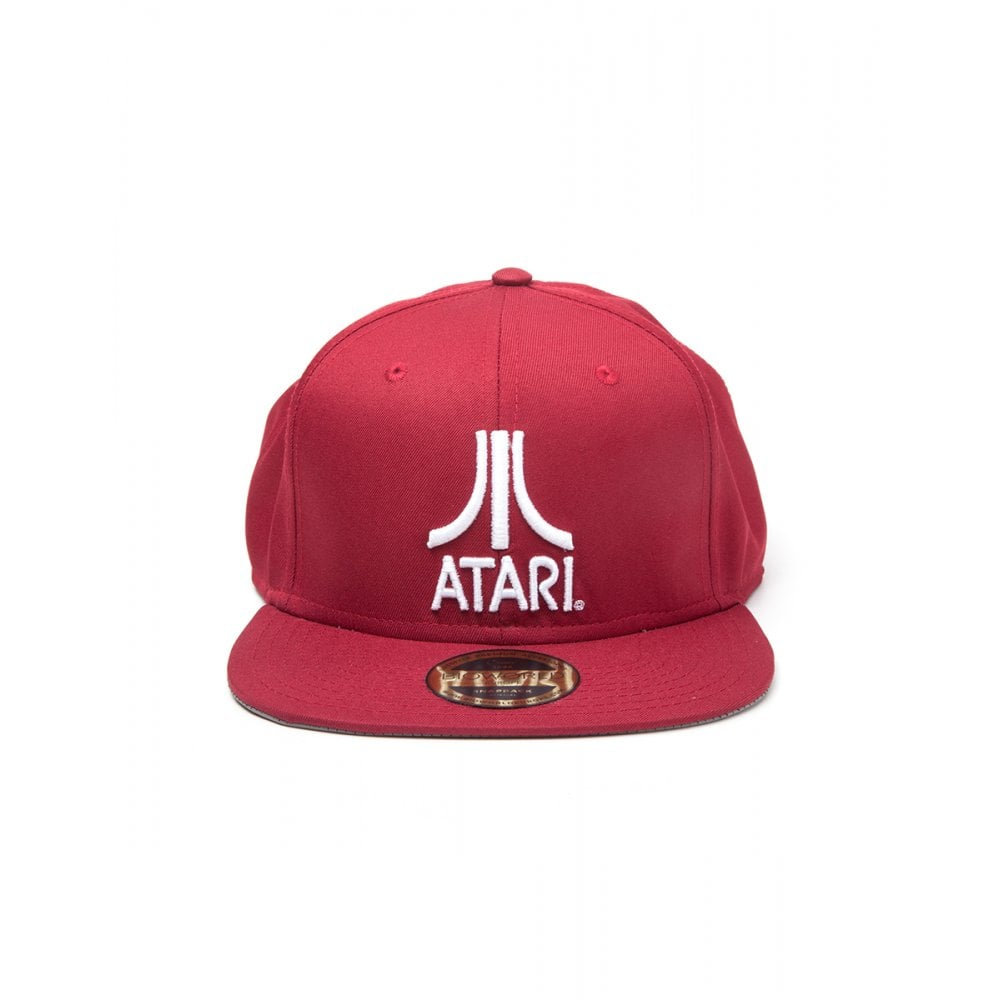 save off 98af5 38537 Atari Atari Classic Logo Snapback
