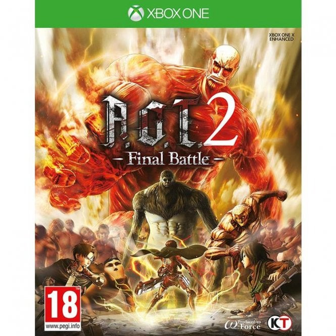 Attack On Titan 2 Final Battle Xbox