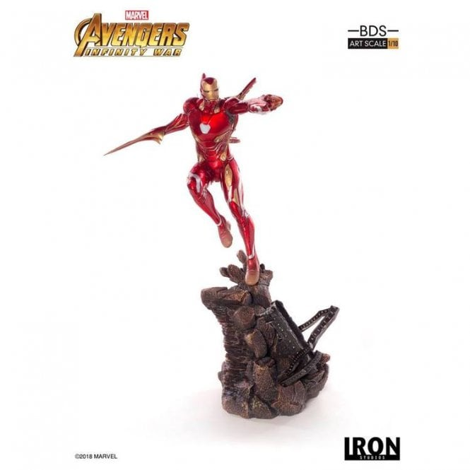 Avengers Infinity War 1 10 BDS Art Scale Statue Iron Man Mark XLVIII