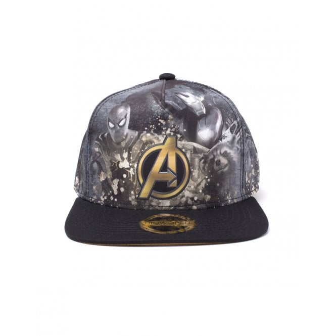 Avengers Infinity War Heroes All All Over Print Snapback Cap