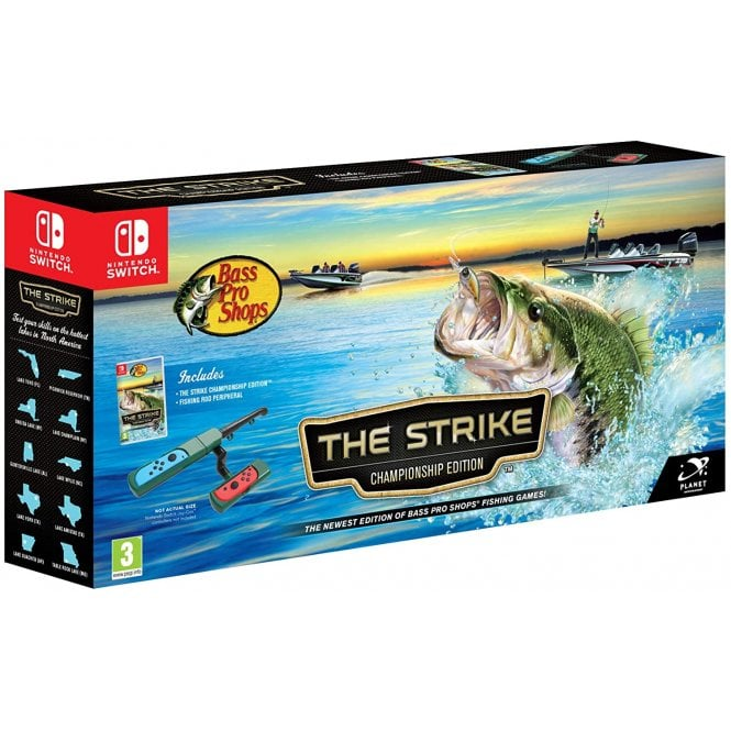Bass Pro Shops The Strike Championship Edition Switch