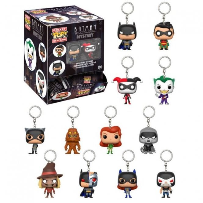 Batman the Animated Series Pocket POP! Keyring Blind Bag