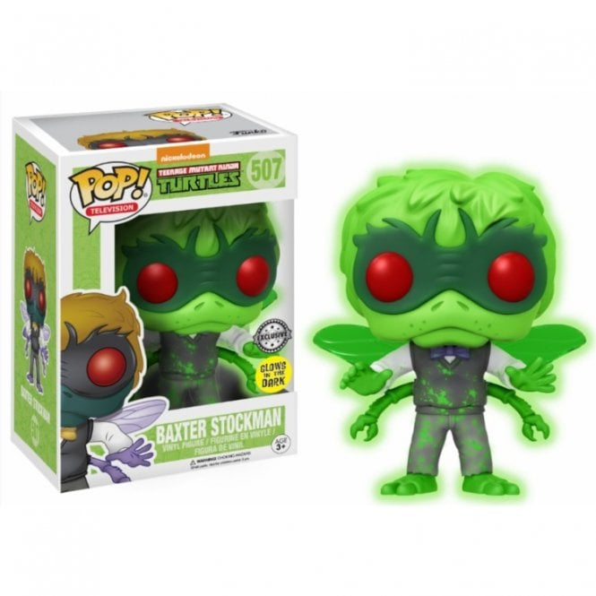 Baxter Stockman GITD Exclusive POP! Vinyl