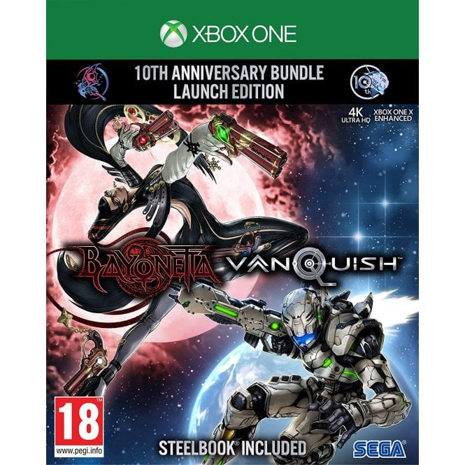 Bayonetta and Vanquish Limited Edition Xbox One