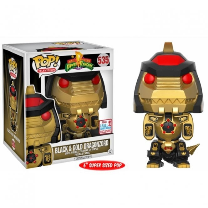 Black & Gold Dragonzord Exclusive 6