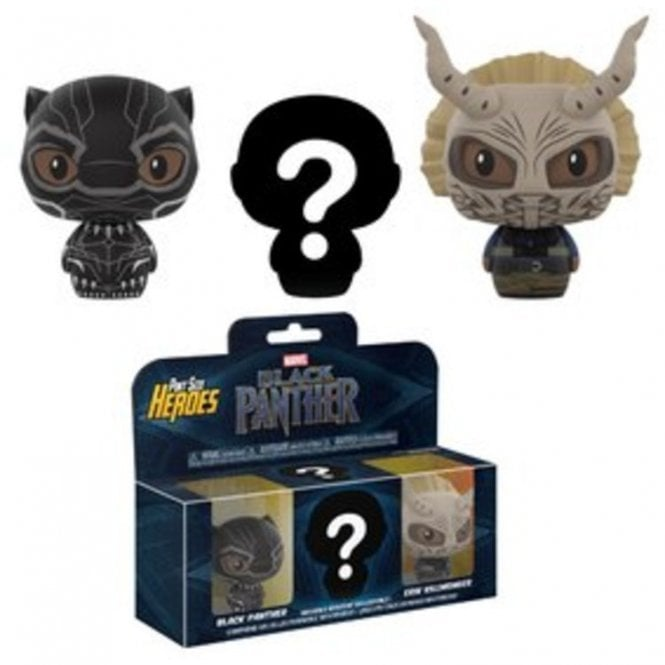 Black Panther Pint Sized Heroes Pint Sized Heroes Triple Pack