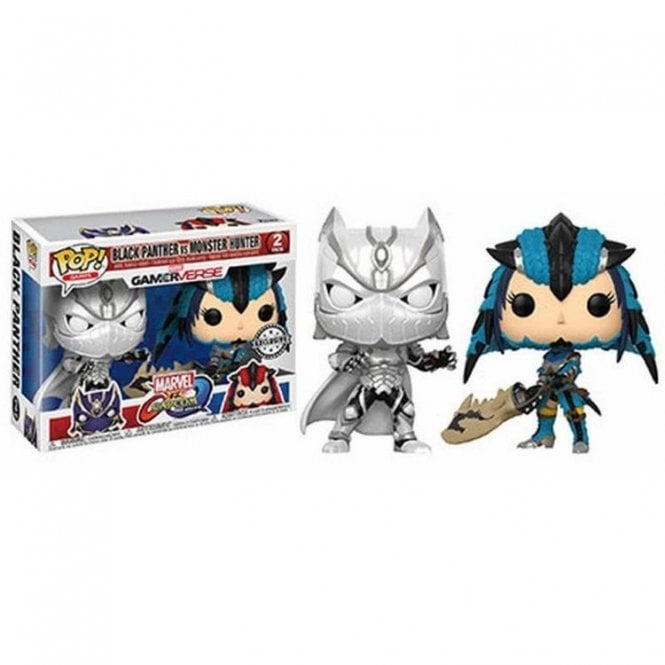 Black Panther vs Monster Hunter POP! Vinyl 2-Pack