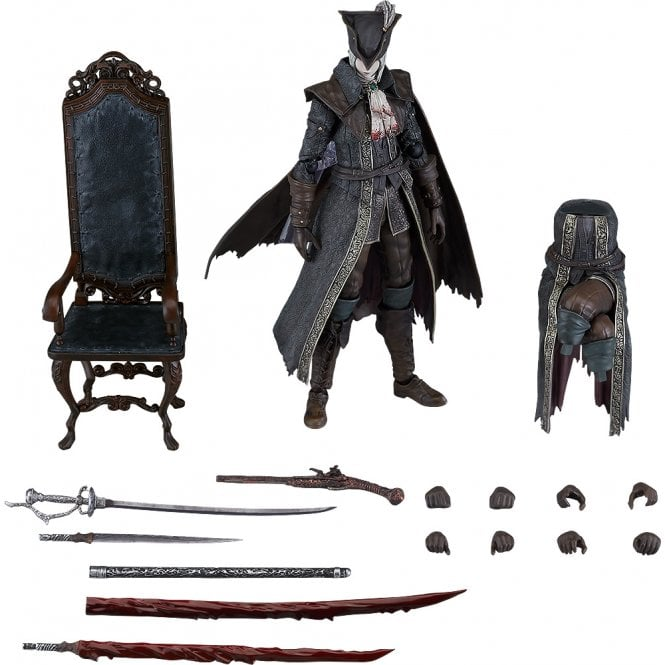 Bloodborne: The Old Hunters figma Lady Maria of the Astral Clocktower DX Edition