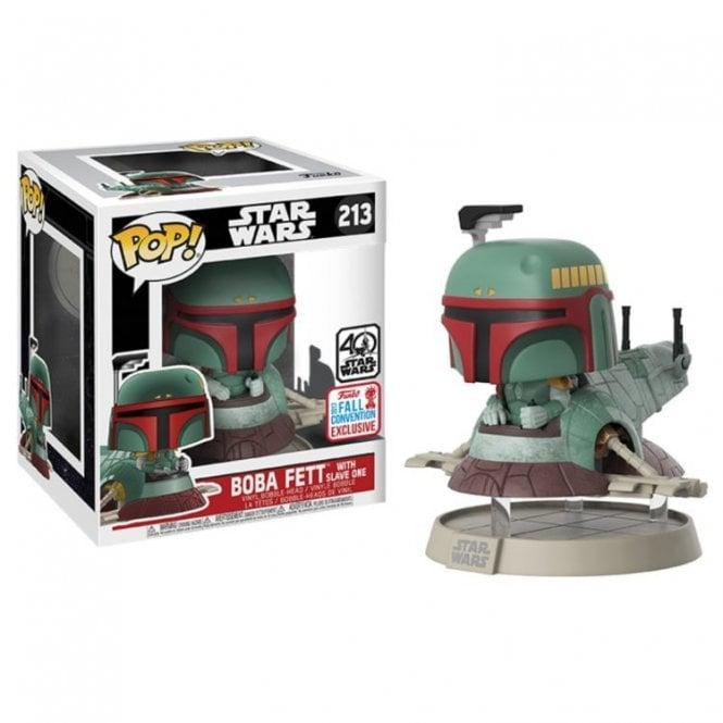 Boba Fett with Slave 1 Exclusive 6