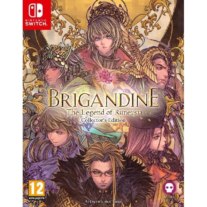 Brigandine The Legend of Runersia Collectors Edition Switch