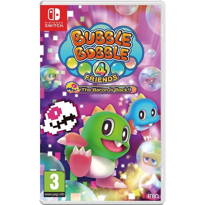 Bubble Bobble 4 Friends The Baron Is Back! Switch
