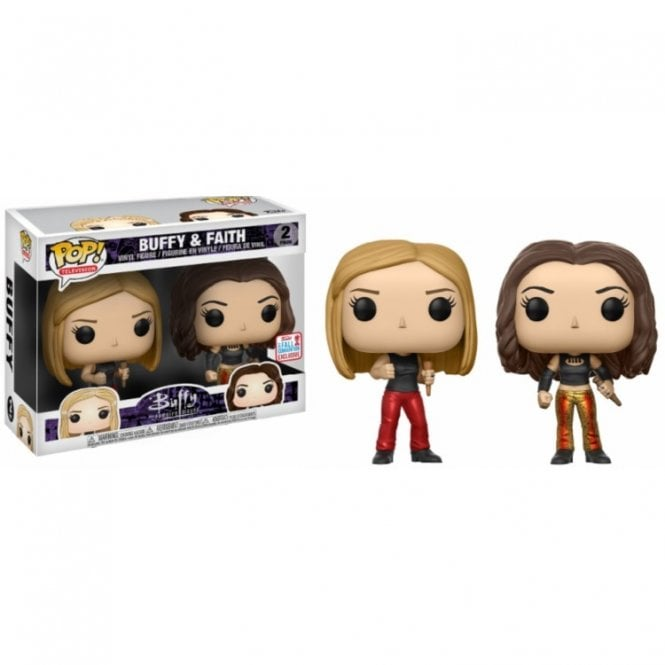 Buffy & Faith Exclusive POP! Vinyl 2 Pack