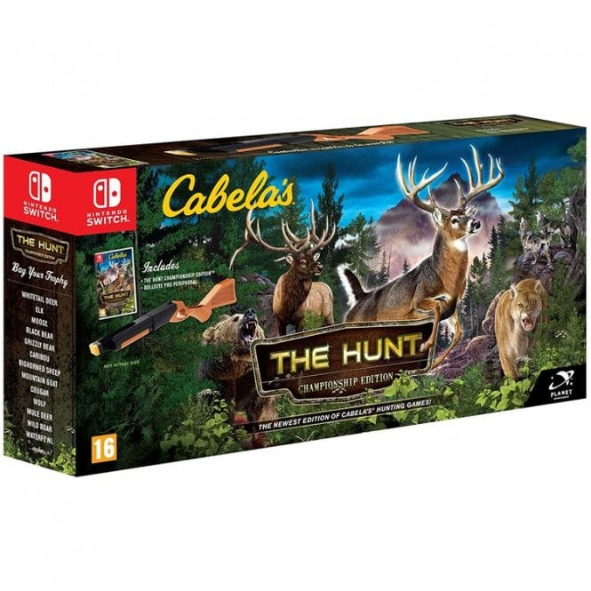 Cabela's The Hunt Championship Edition Switch