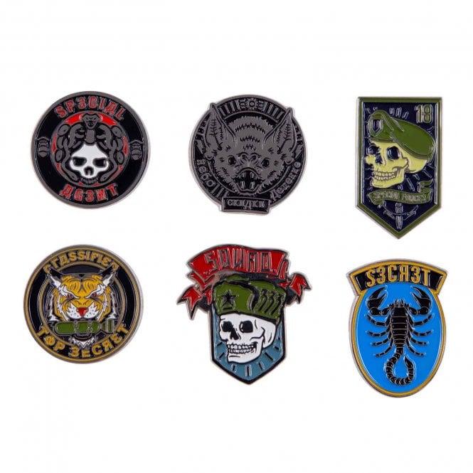 Call of Duty Cold War Badges Pin Set