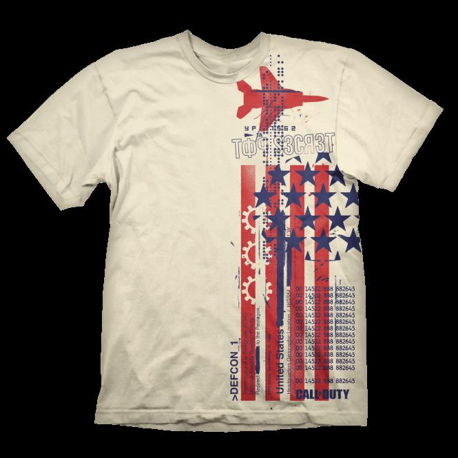Call of Duty Cold War Top Secret T-Shirt Large