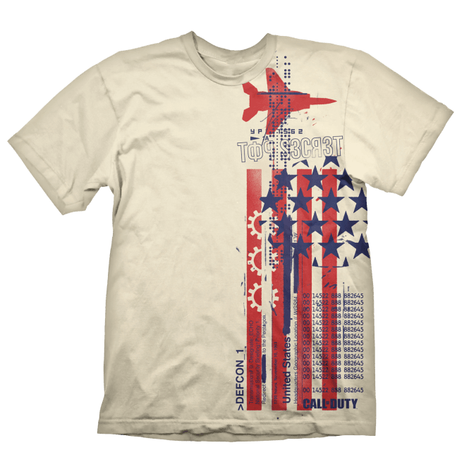 Call of Duty Cold War Top Secret T-Shirt Small