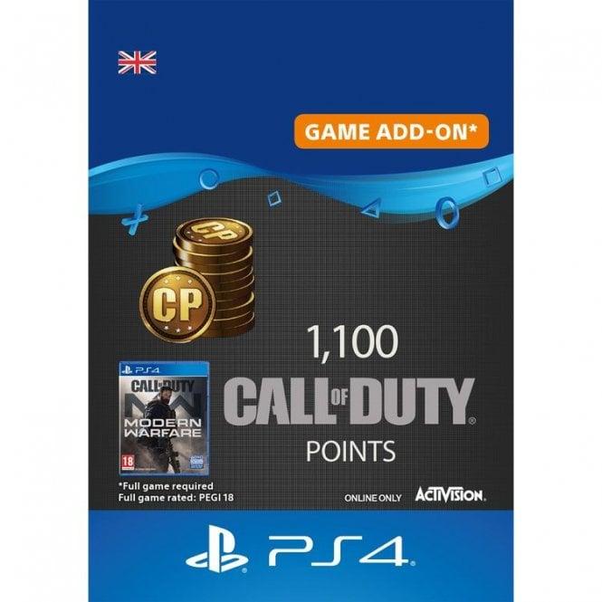 Call of Duty Modern Warfare Points 1100
