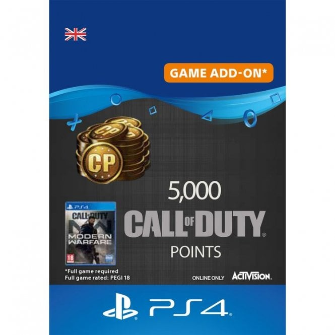 Call of Duty Modern Warfare Points 5000