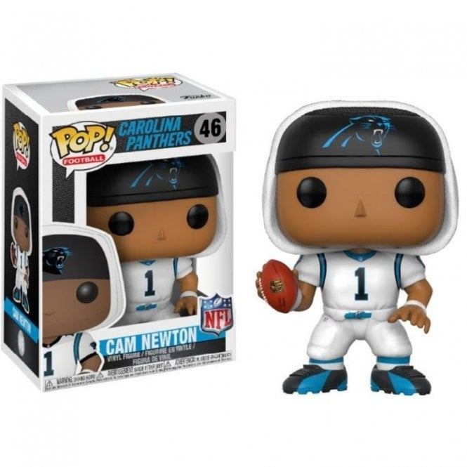 Cam Newton Carolina Panthers White POP! Vinyl