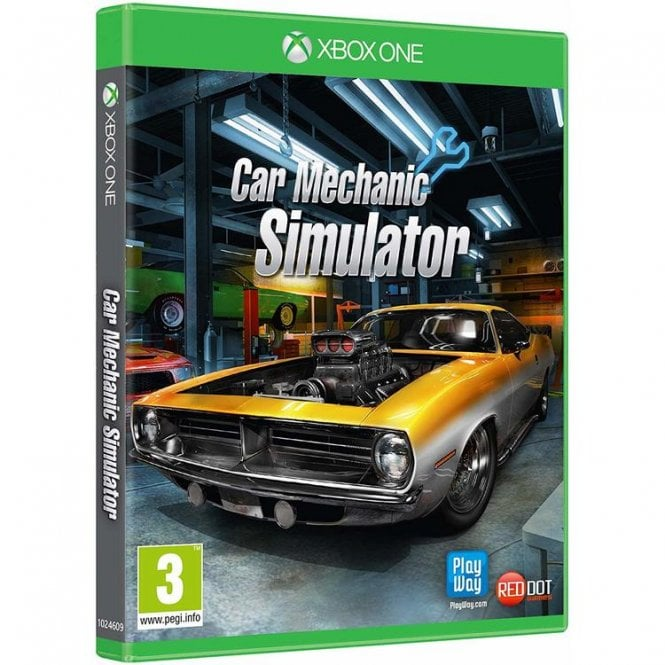 Car Mechanic Simulator Xbox One