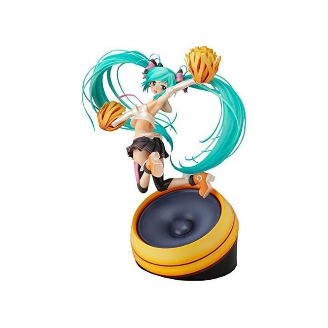Character Vocal Series 01 1/8 Scale Hatsune Miku Figure Cheerful Ver. Pre-Owned