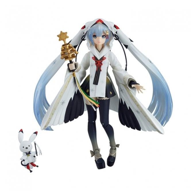 Character Vocal Series 01 Hatsune Miku figma Snow Miku Crane Priestess ver.